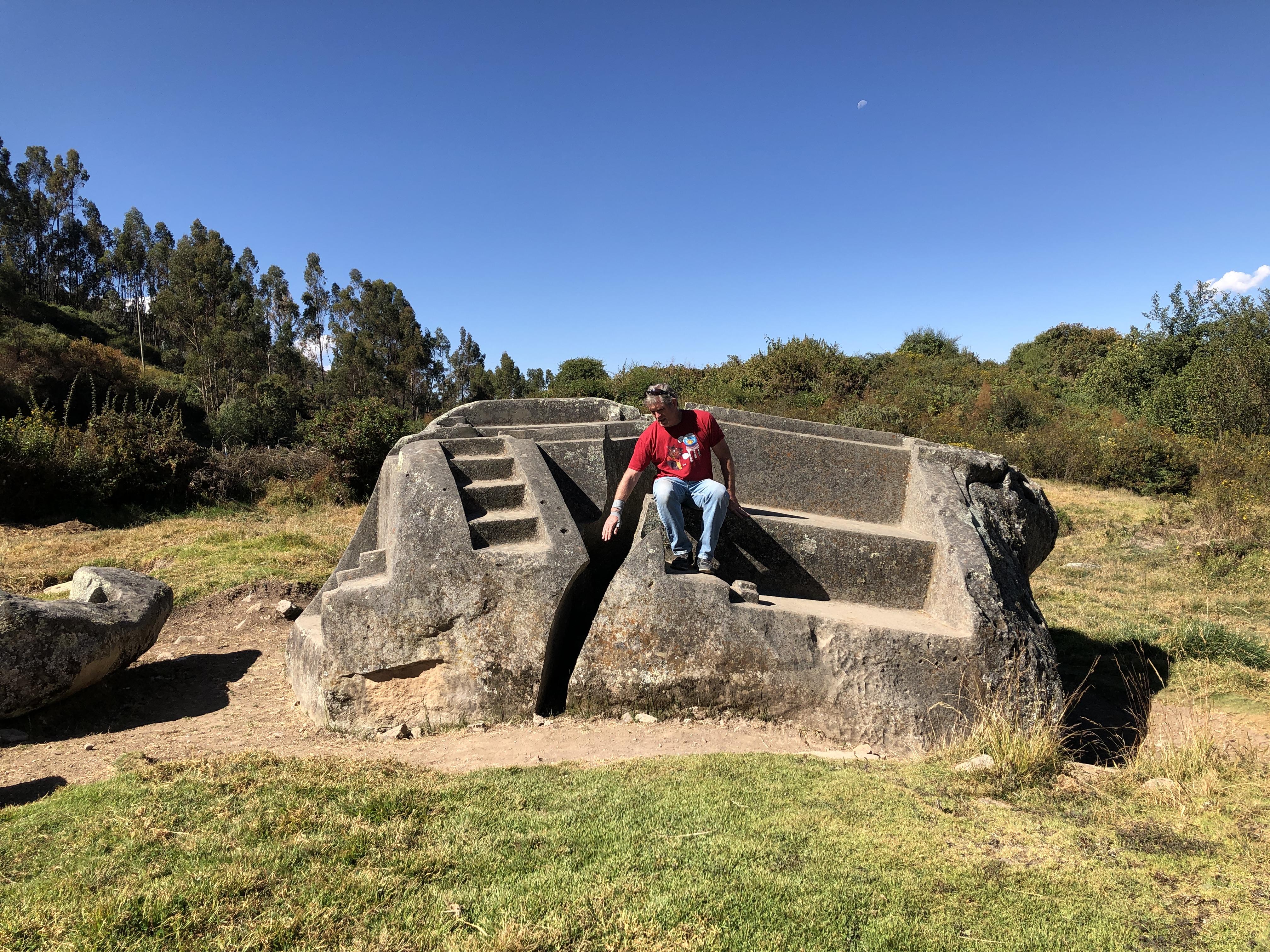 saywite ruins throne stone