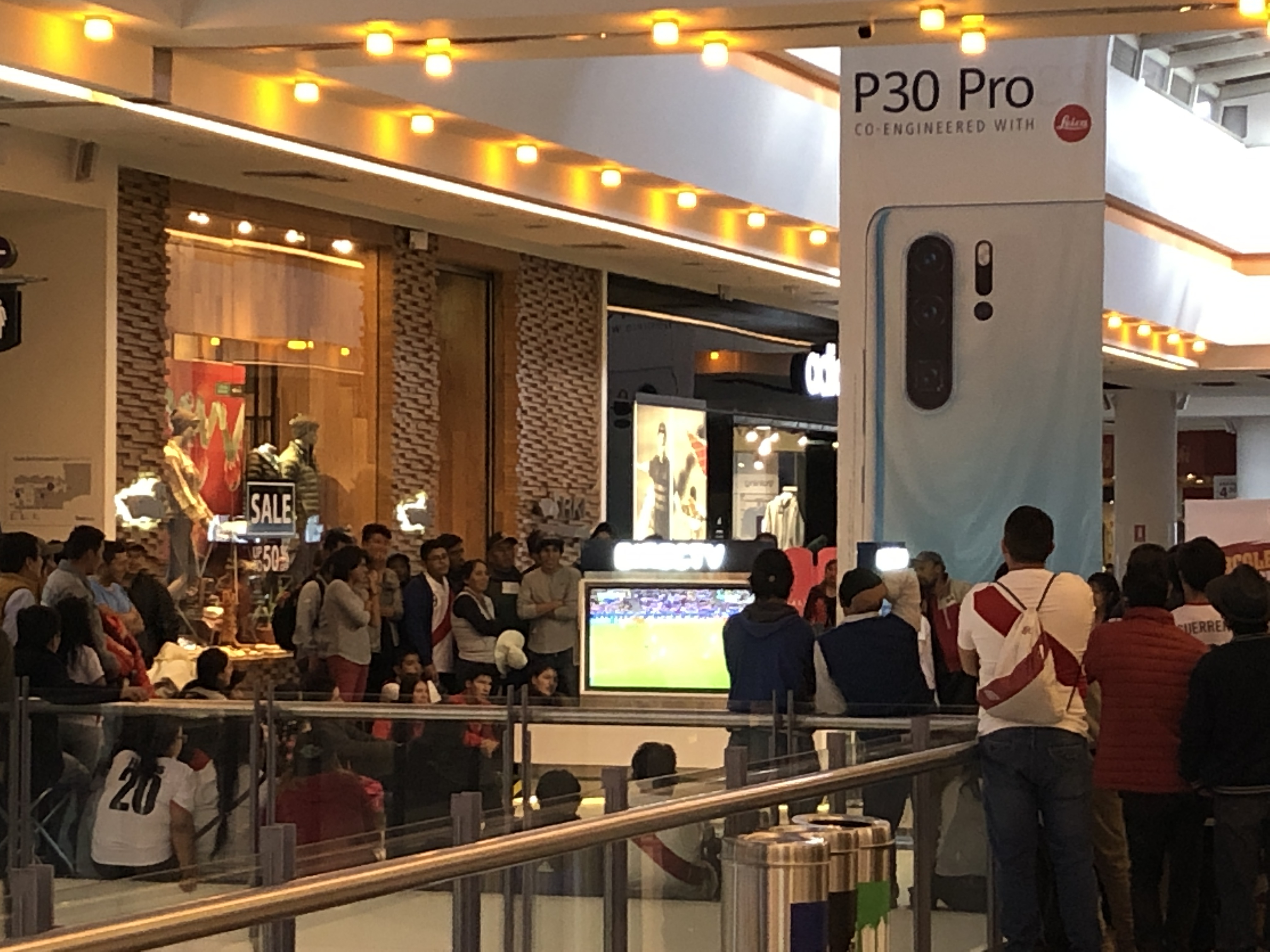 mall watching peru in soccer finals.JPG
