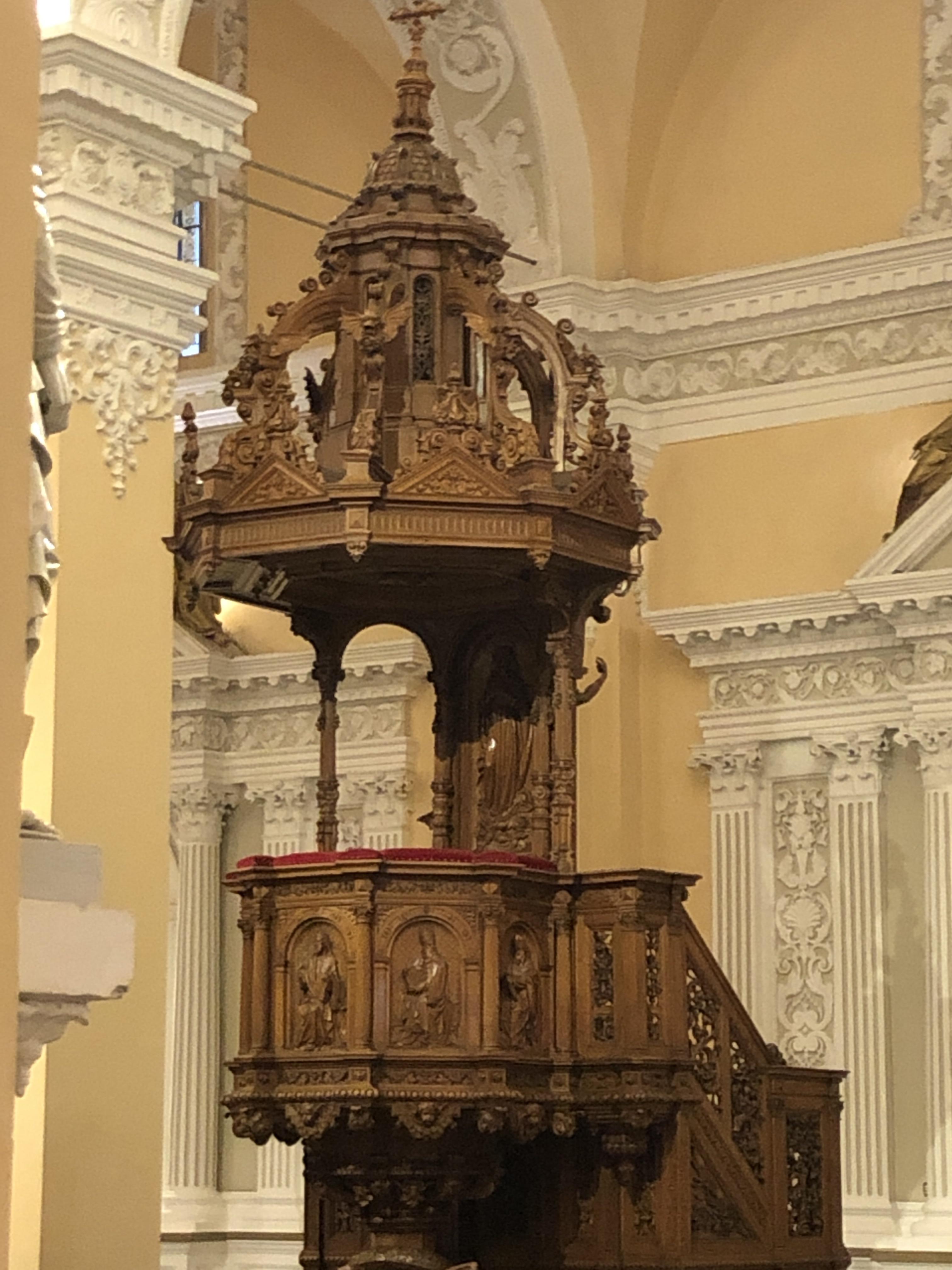 arequipa pulpit