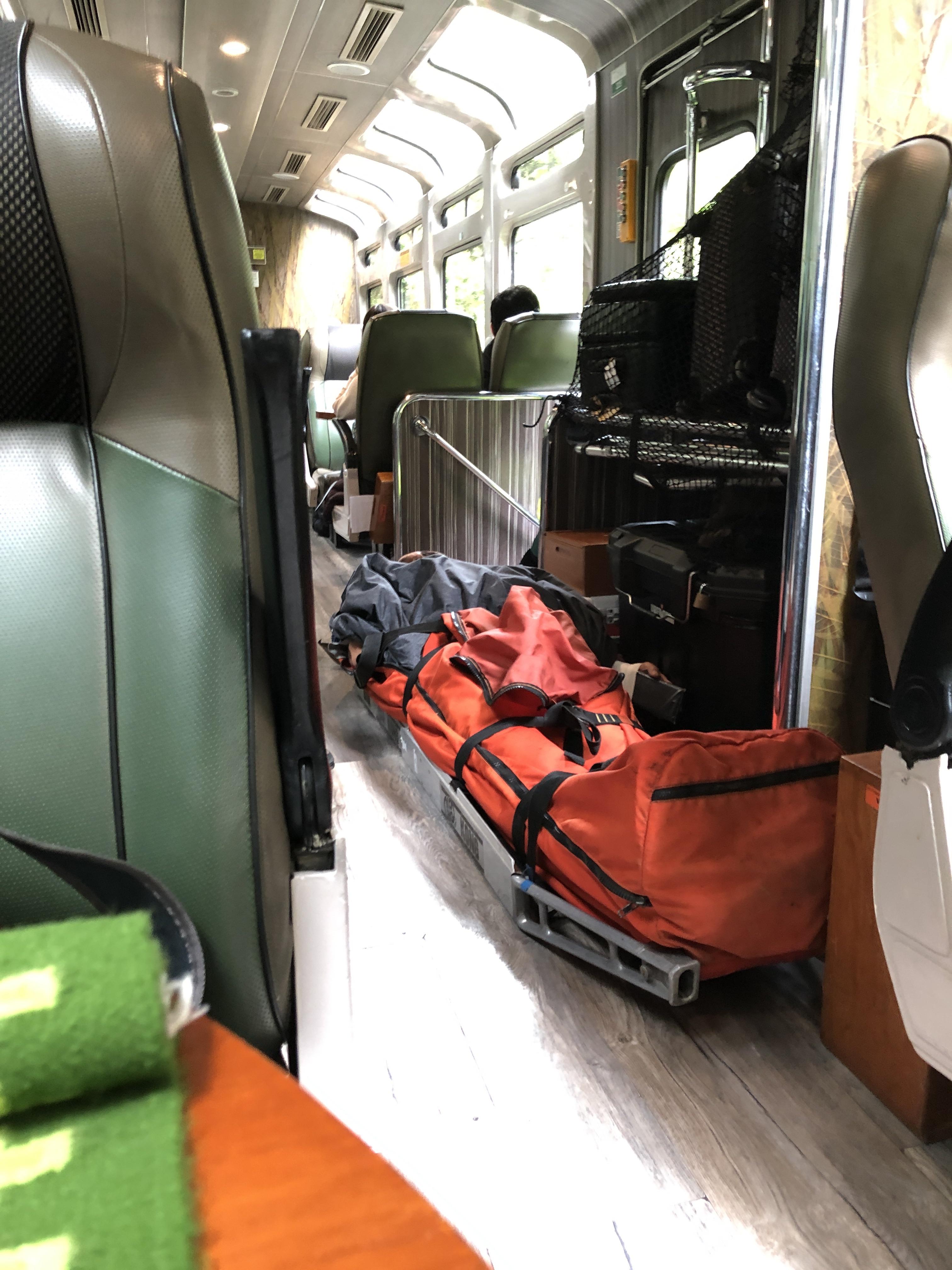 lidora train guy on back board