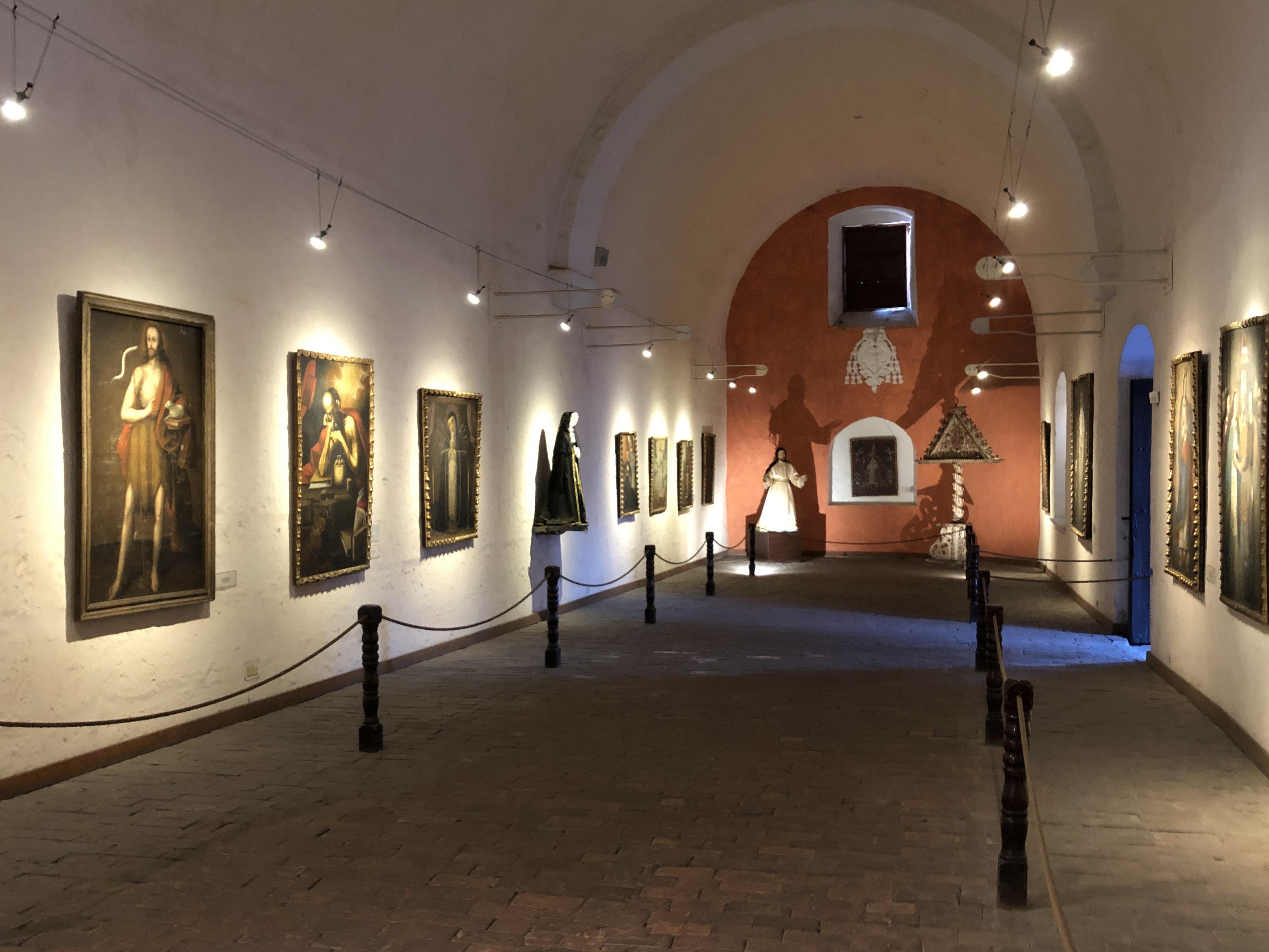 monastery santa catalina art