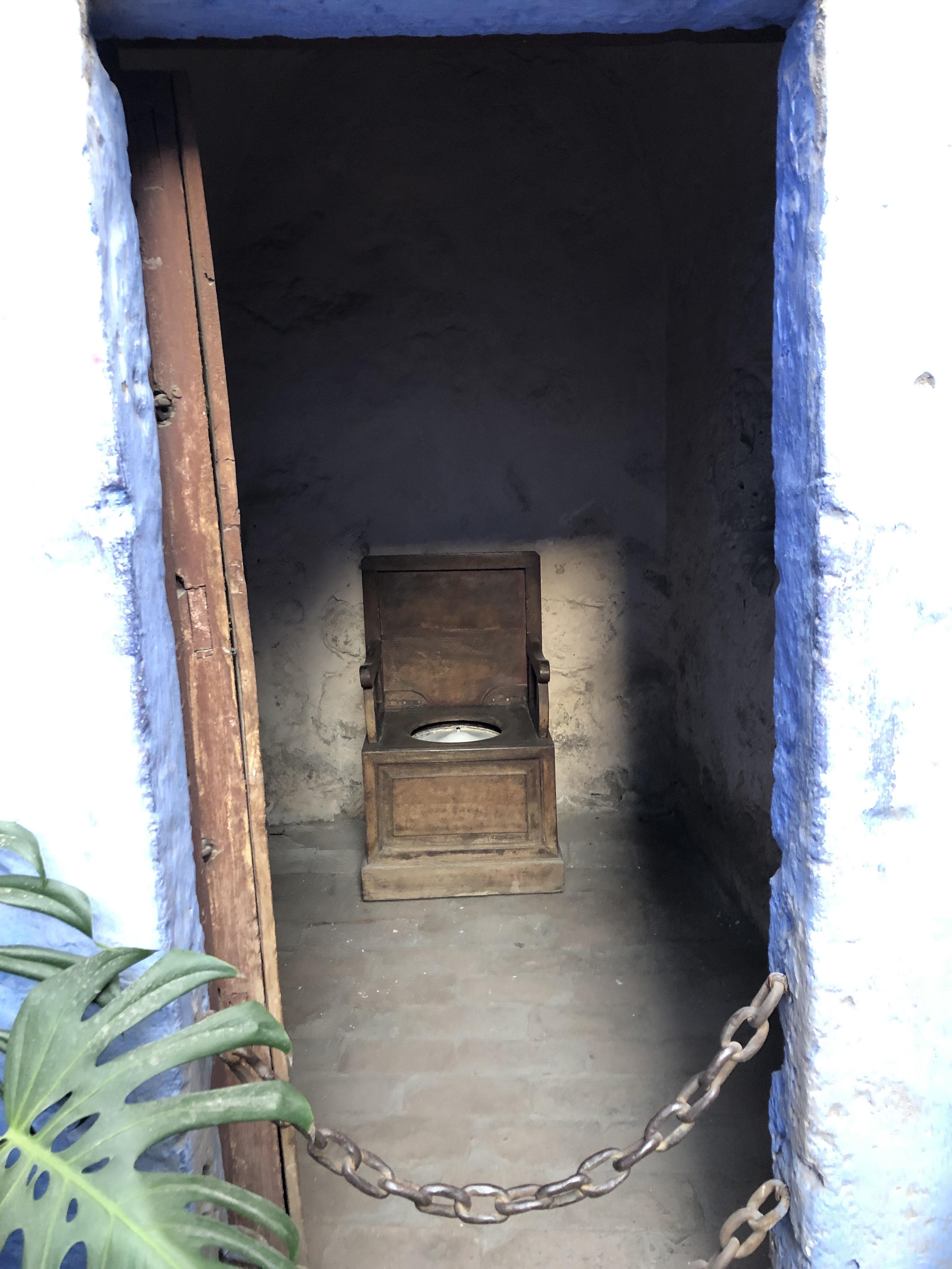monastery santa catalina nuns toilet
