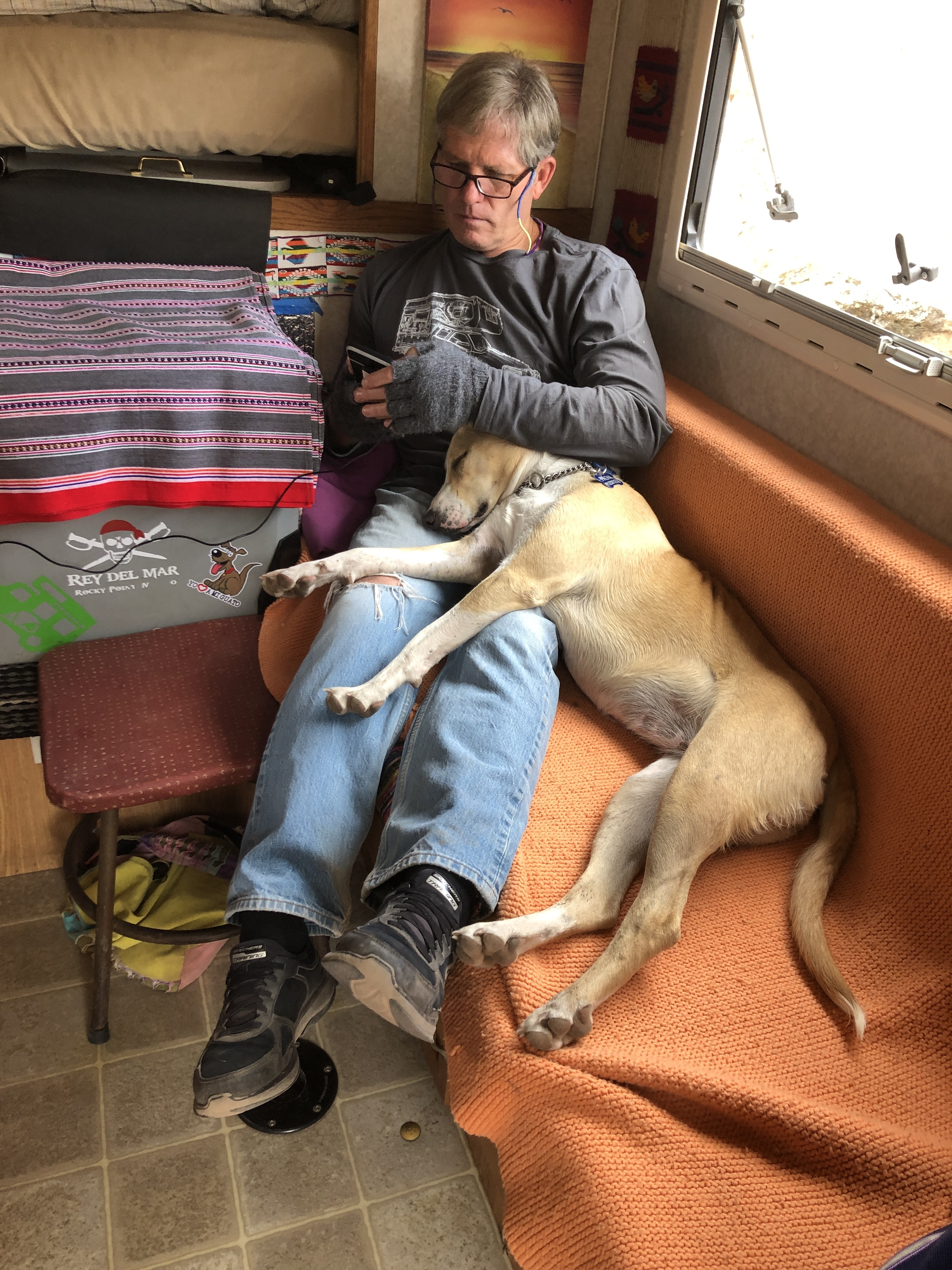 pacha cuddling