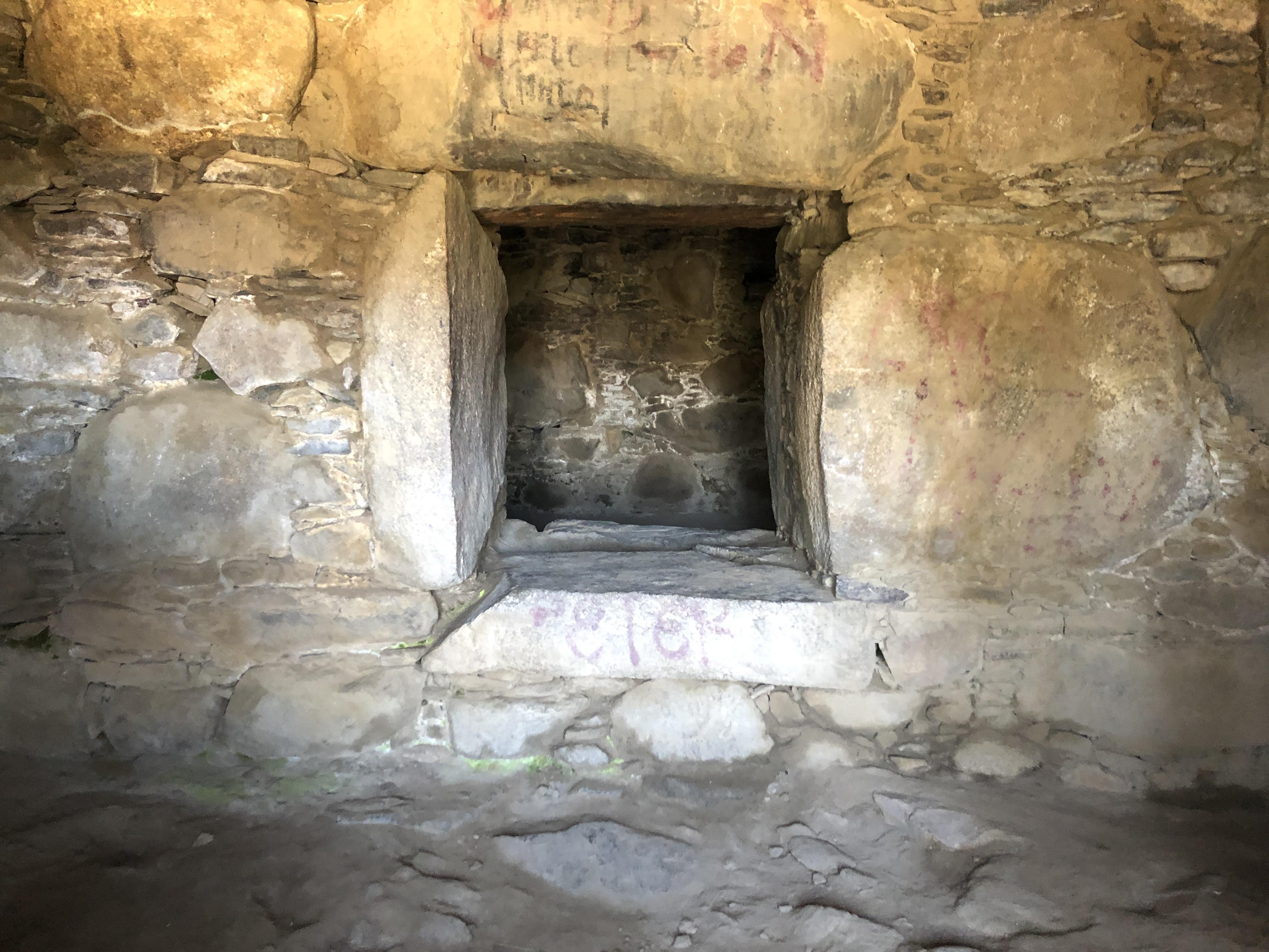 wilkawain ruins passageway