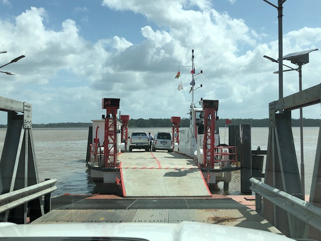 border ferry to france