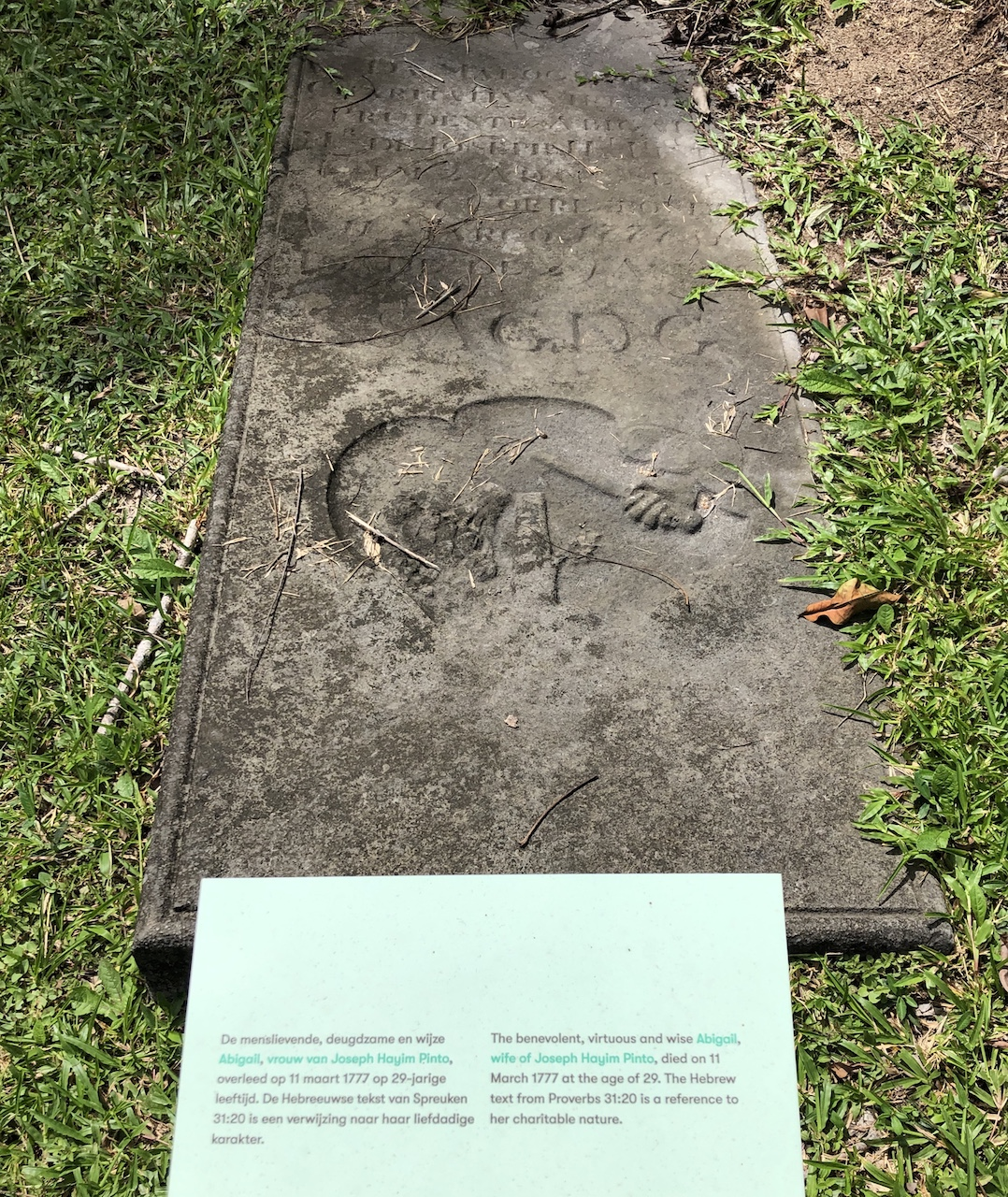 jewish grave story