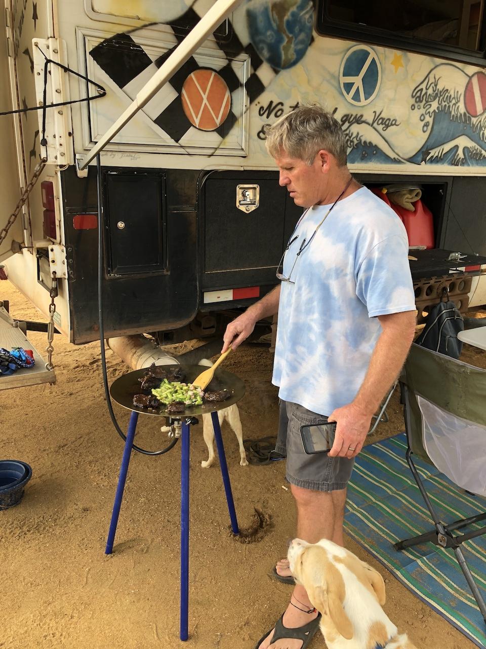 marina cooking