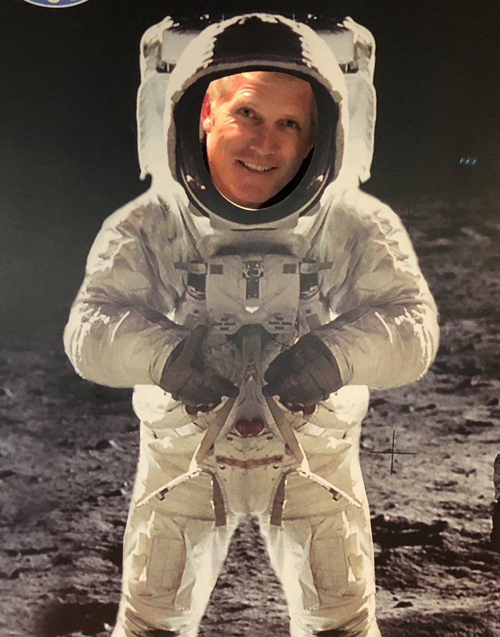 space astronaut mike